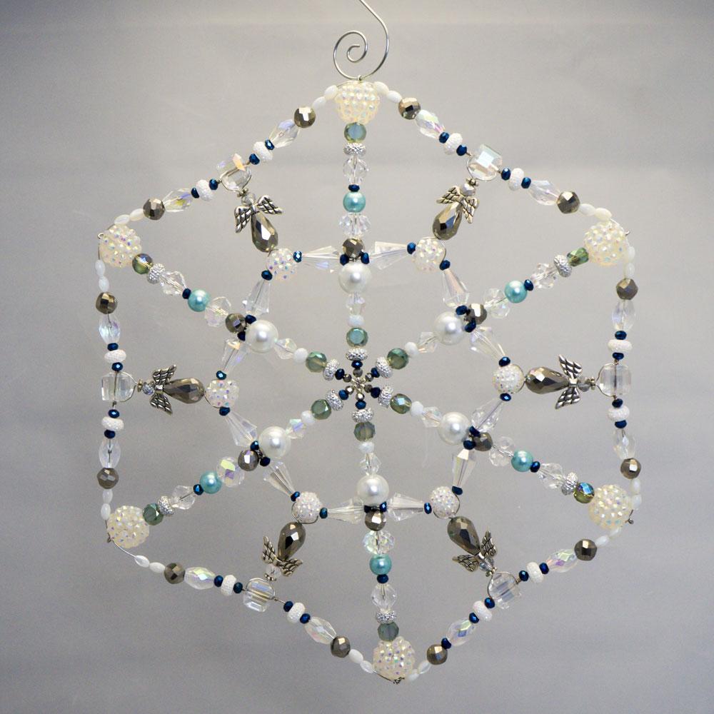 Large Beaded Snowflake